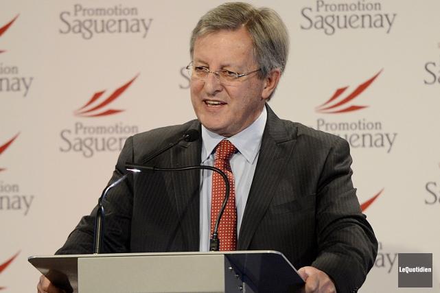 Le maire Jean Tremblay.... ((Photo Le Quotidien, Jeannot Lévesque))