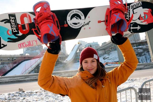 Audrey McManiman, 20 ans, sera la seule Québécoise... (Photo Le Soleil, Erick Labbé)