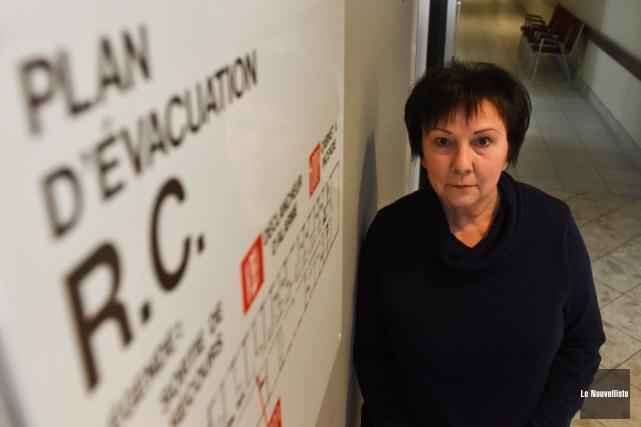 Denise Harnois, propriétaire de la Résidence Les Marronniers... (Photo: François Gervais Le Nouvelliste)