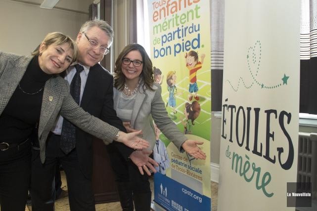 Le fonds Étoiles de mère a été lancé... (Photo: Stéphane Lessard Le Nouvelliste)