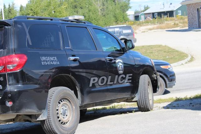 Les services policiers de la communauté atikamekw d'Opitciwan...