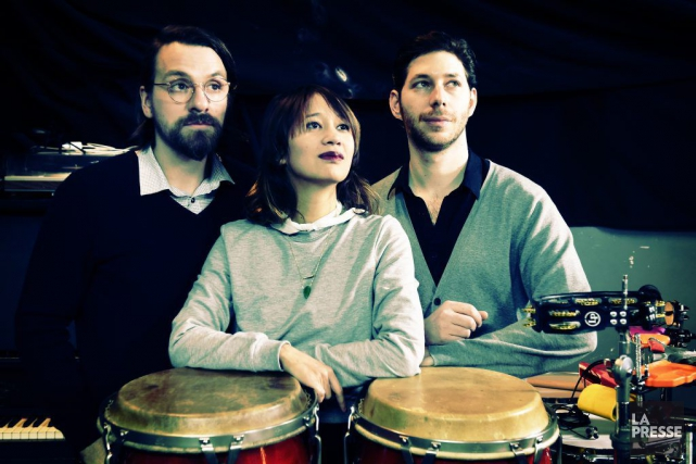 Le groupe Le Couleur, formé de Steeven Chouinard,... (PHOTO BERNARD BRAULT, LA PRESSE)