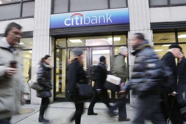 La banque américaine Citigroup a annoncé mercredi qu'elle... (PHOTO MARK LENNIHAN, ARCHIVES AP)