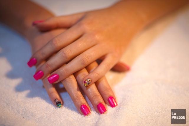 L'attestation en pose d'ongles est l'une des formations... (PHOTO ANDRÉ PICHETTE, ARCHIVES LA PRESSE)