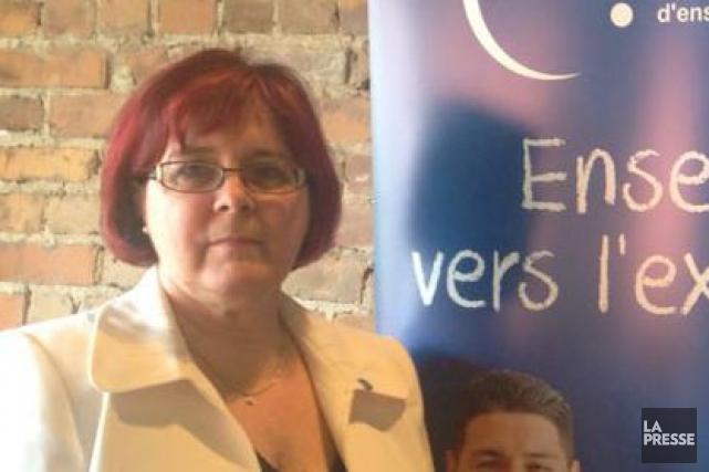 Lorraine Normand-Charbonneau, présidente de la Fédération québécoise des... (Photo: Roland Paillé)