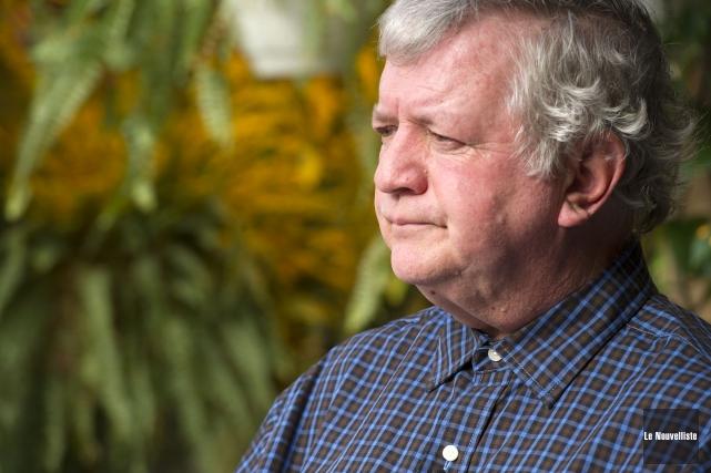 Le propriétaire de la Pépinière 55, Réjean Lapointe.... (Photo: Stéphane Lessard Le Nouvelliste)