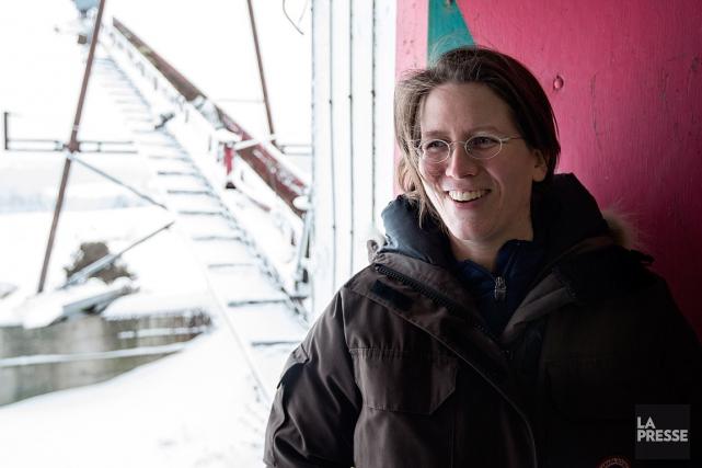 Valérie Brousseau, chirurgienne otorhinolaryngologiste de profession, s'est lancée... (PHOTO OLIVIER PONTBRIAND, LA PRESSE)