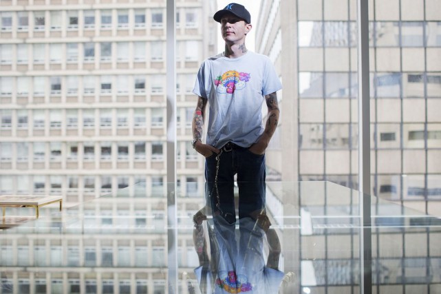Deadmau5, de son vrai nom Joel Zimmerman, a... (Photo: Michelle Siu, archives La Presse Canadienne)