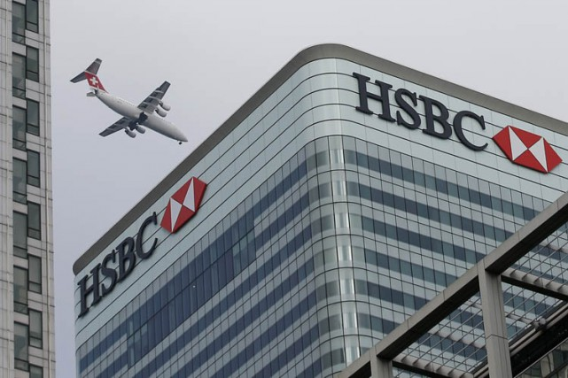 HSBC est au centre des révélations de Swissleaks,... (Photo: Reuters)