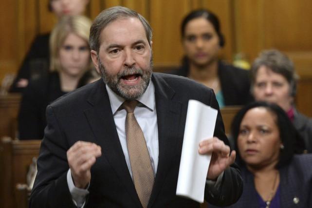 «Contrairement à Stephen Harper, nous croyons que (...)... (Photo La Presse Canadienne, Sean Kilpatrick)