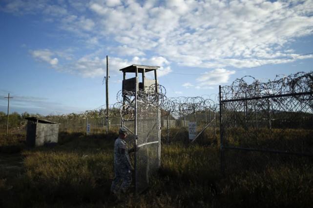La cour d'appel des tribunaux militaires de Guantanamo a annulé mercredi la... (Photo: AP)
