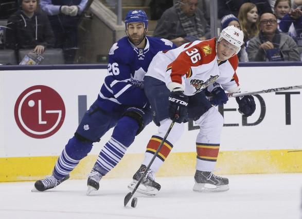 Les Maple Leafs de Toronto ont procédé à une autre transaction, hier, envoyant... (USA TODAY Sports)