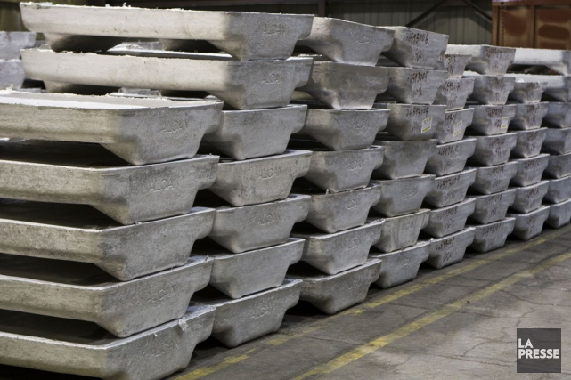 Même si le secteur de l'aluminium reste volatile,... (Photo: Rémi Lemée, Archives La Presse)