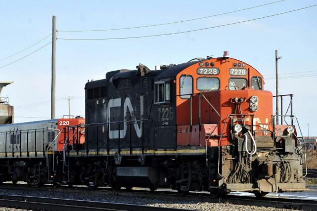 Le Canadien National a annoncé mardi que ses 2100 mécaniciens et électriciens... (Photo Graham Hughes, La Presse canadienne)