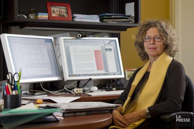 Isabelle Peretz, professeure de psychologie à l'Université de... ((Archives La Presse, Hugo Sébastien Aubert))