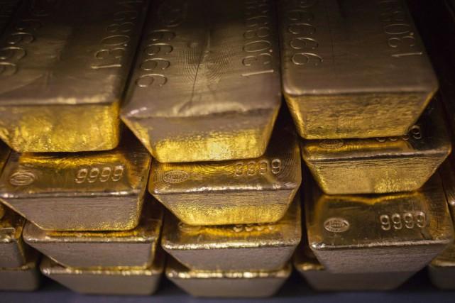 Barrick Gold a entamé un bras de fer... (Photo Shannon Stapleton, archives Reuters)