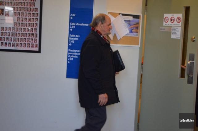 Justin Mailloux devra revenir devant le tribunal, le... ((Photo le Quotidien, Laura Lévesque))