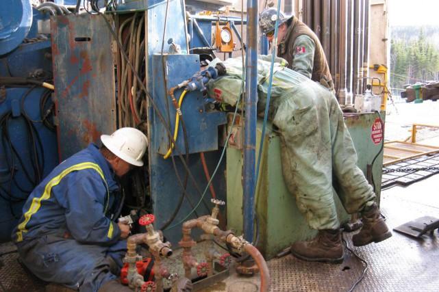 Pétrolia a découvert du pétrole dans le puits... (Photo collaboration spéciale Geneviève Gélinas)