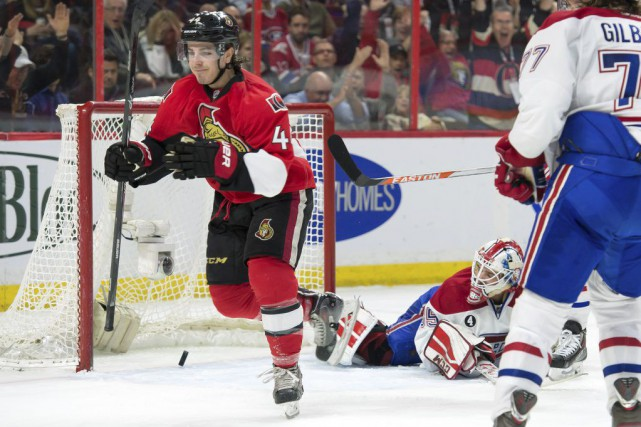 Jean-Gabriel Pageau a redonné une avance d'un but... (PHOTO REUTERS)