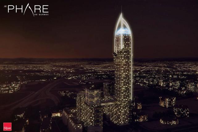 Au-delà de l'architecture, le maire se réjouit de... (Image fournie par Groupe Dallaire et Graph Synergie)