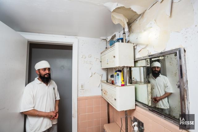 L'ancien locataire, Tejinder Singh.... (PHOTO EDOUARD PLANTE-FRECHETTE, ARCHIVES LA PRESSE)