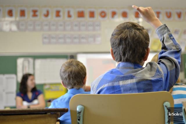 L'an dernier, on dénombrait 179 656 élèves handicapés... (PHOTO PASCAL RATTHÉ, ARCHIVES LE SOLEIL)