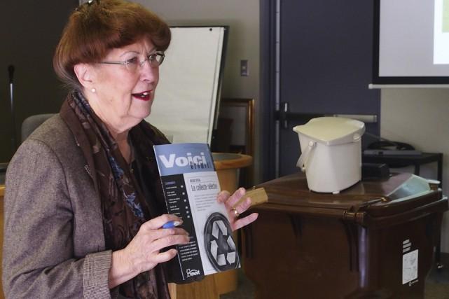 La mairesse Pauline Quinlan espère que dès la... (photo Alain Dion)