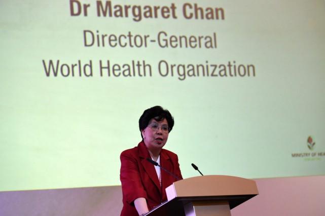 Selon le Dr Margaret Chan, directrice générale de... (PHOTO ROSLAN RAHMAN, AFP)