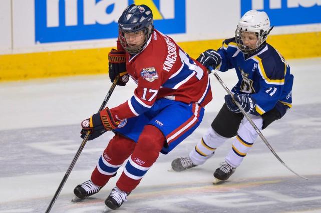 Nicolas Kingsbury-Fournier a été un des meilleurs joueurs... (Photo Le Soleil, Yan Doublet)