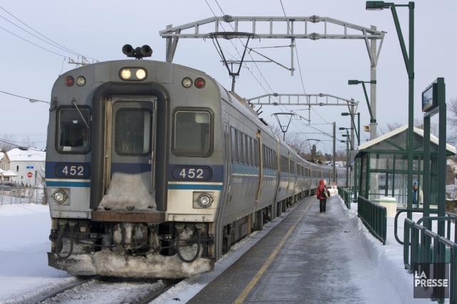 L'Agence métropolitaine de transport (AMT) a annoncé hier que six des rames... (PHOTO ALAIN ROBERGE, LA PRESSE)