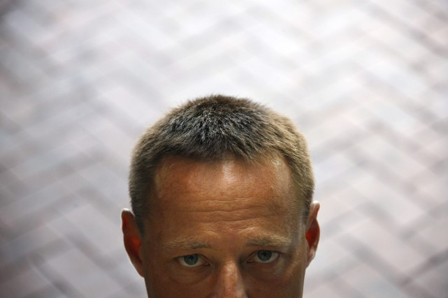 David Hicks avait été interpellé en 2001 en Afghanistan,... (PHOTO DAVID GRAY, ARCHIVES REUTERS)