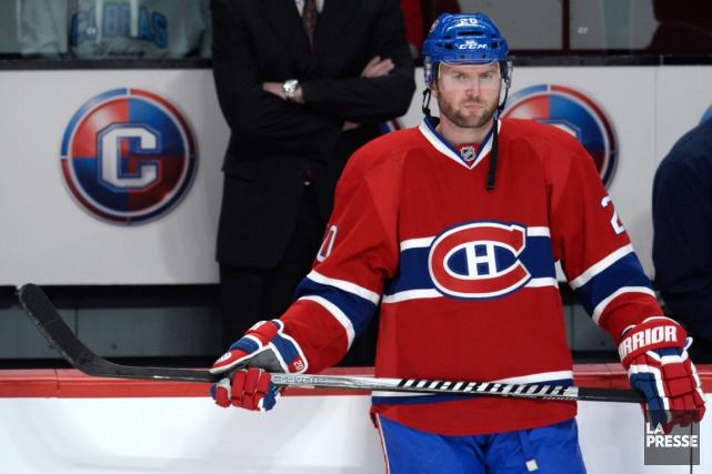 Thomas Vanek a été acquis par le Canadien... (Photo Bernard Brault, La Presse)