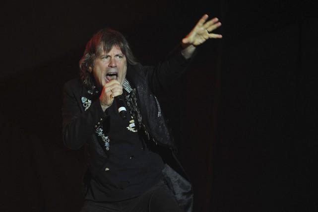 Bruce Dickinson, le chanteur du groupe Iron Maiden.... (ARCHIVES AFP, FRANCESCO DEGASPERI)