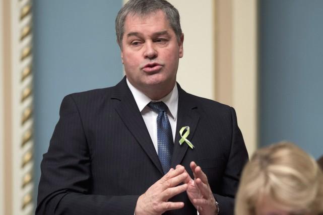 La semaine dernière, le ministre Yves Bolduc avait... (Archives, La Presse Canadienne)