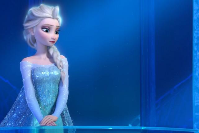 La reine des neiges.... (Courtoisie, Disney)