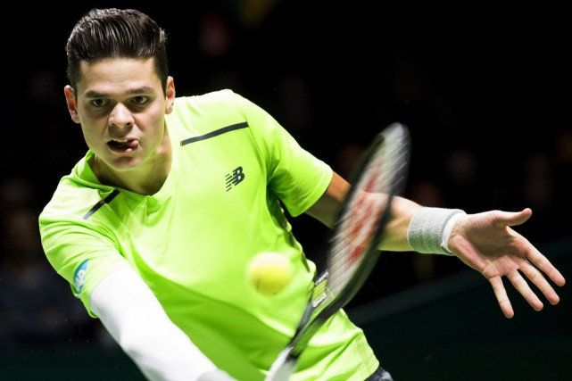 Milos Raonic... (Photo Koen Suyk, archives AFP)