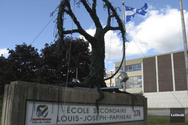 L'école Louis-Joseph-Papineau, à Papineauville. ... (Archives, LeDroit)