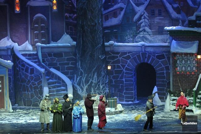 La productionDécembre, de Québec Issime, présentée à la Place des Arts... (Archives Le Quotidien)