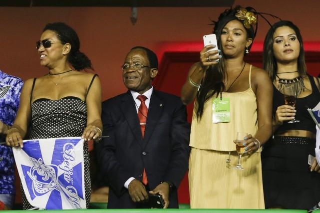 Teodoro Obiang Nguema Mbasogo, président de la Guinée... (PHOTO FELIPE DANA, ARCHIVES AP)