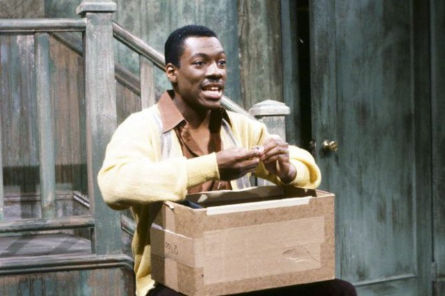 Eddie Murphy faisait partie de la distribution de Saturday... (Photo NBC, Al Levine / Archives AP)