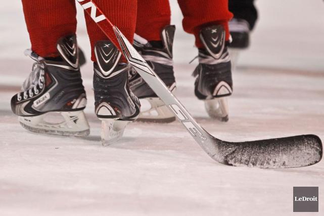 Les équipes AAA et AA de l'Outaouais ont amorcé le tournoi bantam... (Archives, LeDroit)