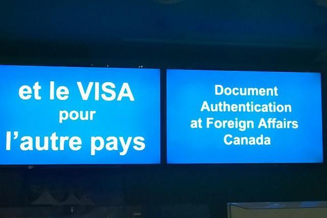 En se rendant au complexe Guy-Favreau de Montréal, où se trouve notamment le... (Photo fournie)