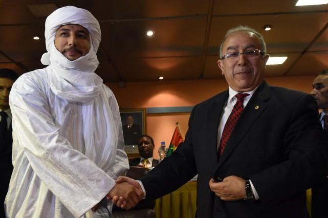 Le ministre algérien des Affaires étrangères Ramtane Lamamra... (PHOTO FAROUK BATICHE, AFP)