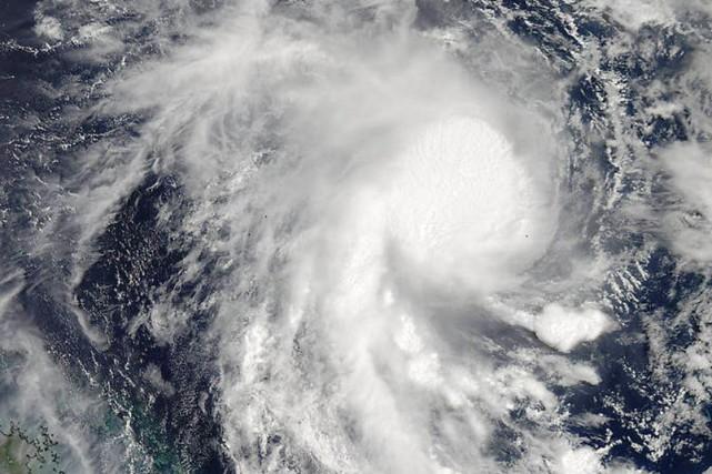Le cyclone Marcia, relevé en catégorie 5, la... (Photo NASA, AP)