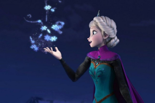 Elsa d'Arendelle, la Reine des Neiges... (Photo fournie par Disney)