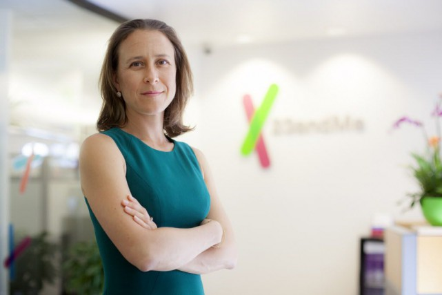 Créé et dirigé par Anne Wojcicki, 23andme a... (Photo Peter DaSilva, The New York Times)