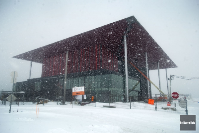 La Ville de Trois-Rivières a affecté jeudi des... (Photo: Stéphane Lessard, Le Nouvelliste)