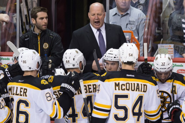 Les Bruins de Claude Julien se dirigent vers... (Photo Darryl Dyck, PC)