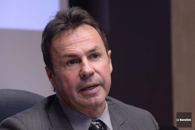Le maire de Shawinigan, Michel Angers.... (Photo: Sylvain Mayer, Le Nouvelliste)
