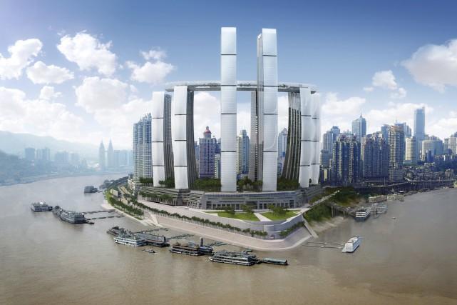 Le projet de Chongging, en Chine...